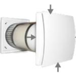 Quantum HR-150 egyhelyiséges hővisszanyerő szellőztető elszívás