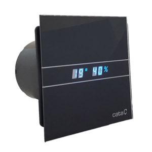 CATA E-100 GTHBK fekete szellőztető ventilátor