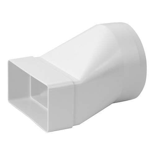 Lapos csatorna-körcsatorna átalakító egyenes
