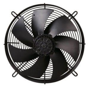 FR ipari Axiál ventilátor védőráccsal